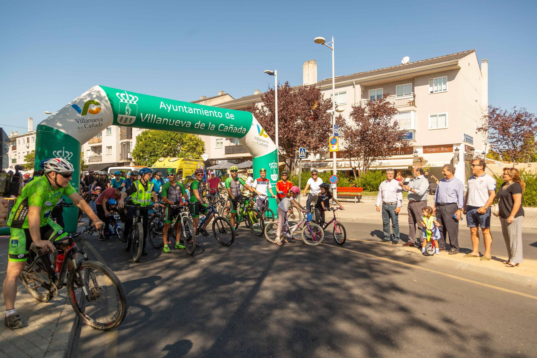 Momento de la salida de la Fiesta de la Bicicleta