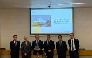 Entrega de la distinción de Ciudad Atractiva para la Inversión 2019 a Villanueva de la Cañada