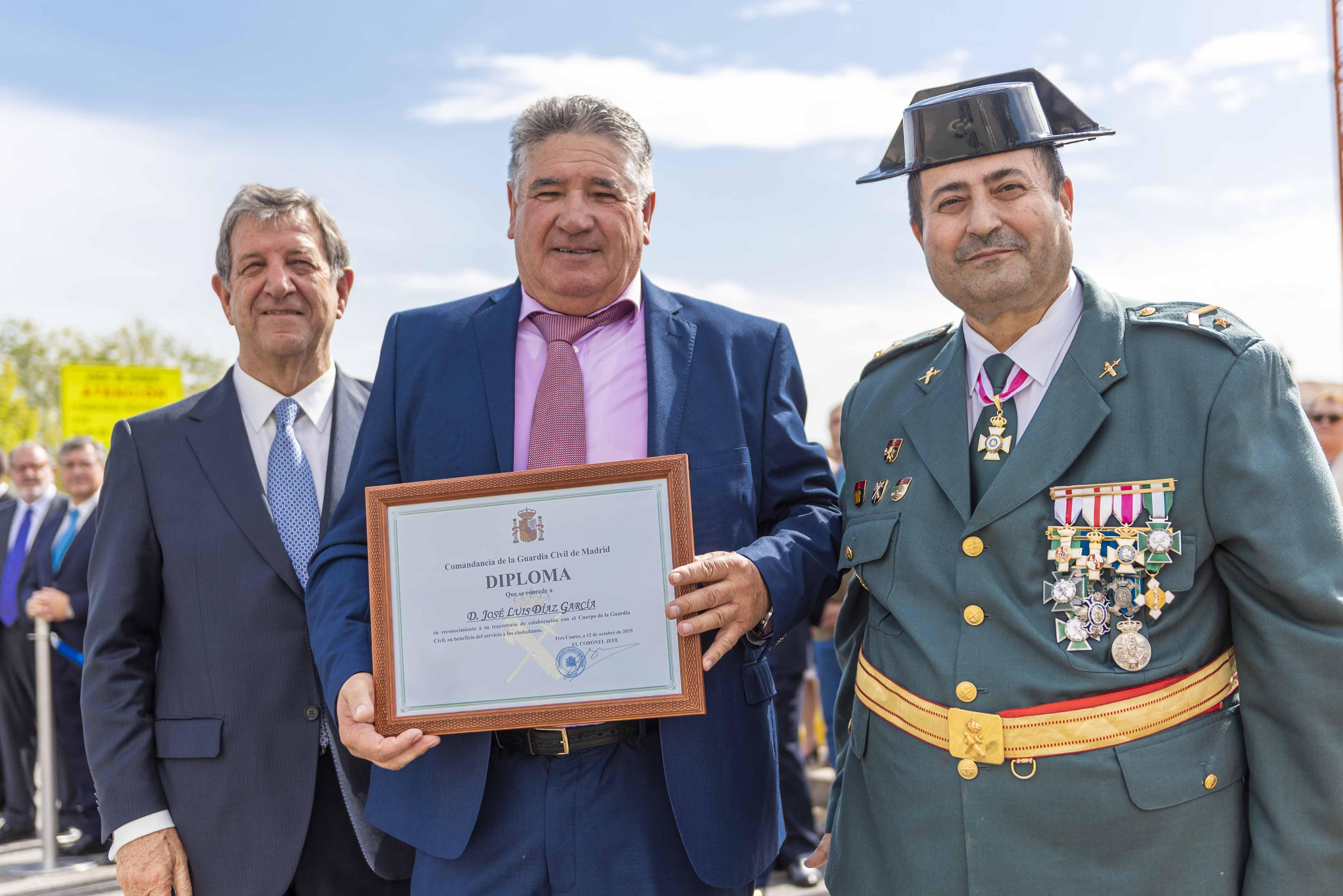 El responsable del Área de Mantenimiento recibió un diploma