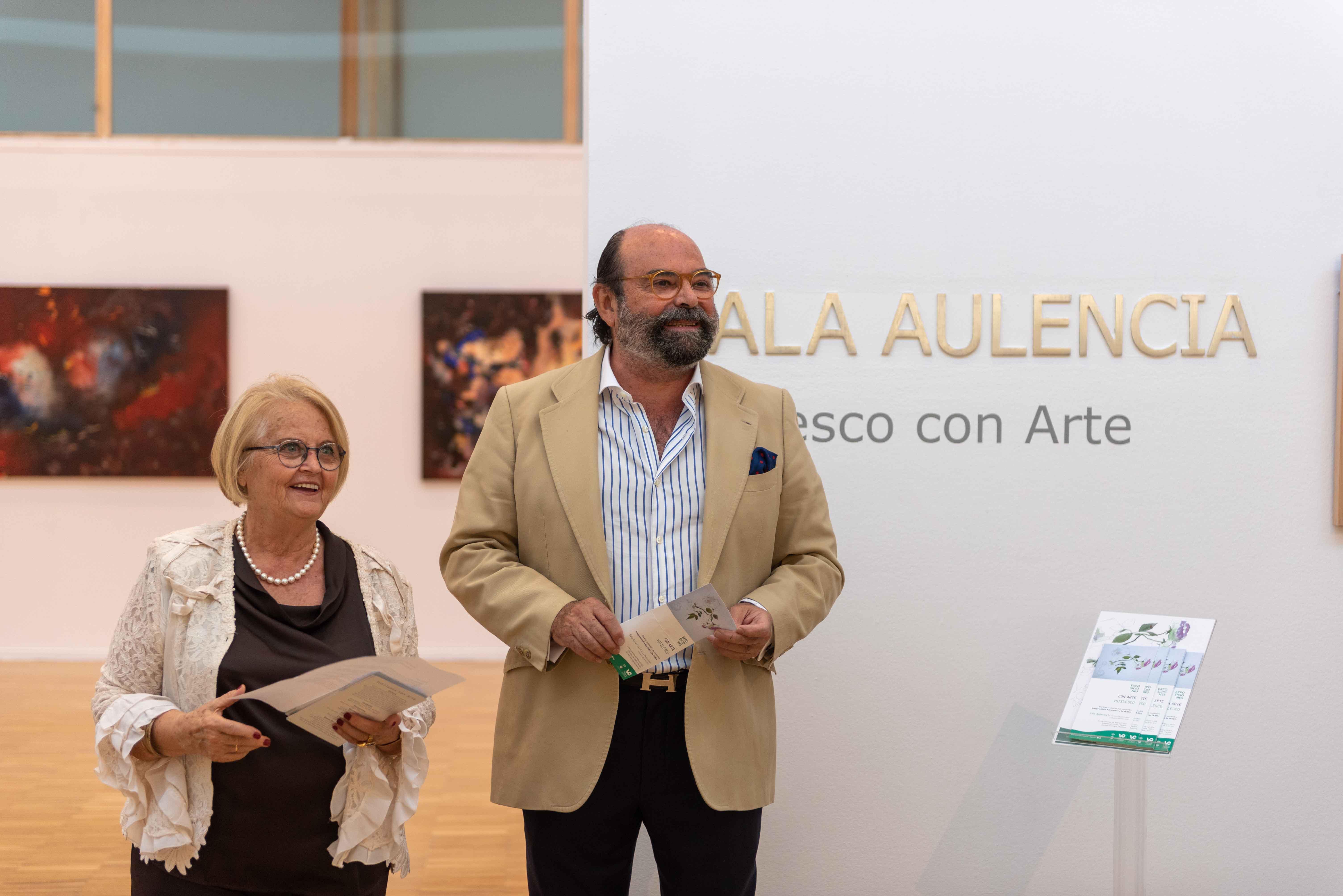 El concejal de cultura, Fernando Agudo, inauguró la exposición