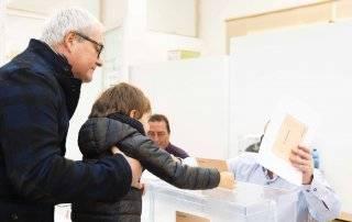 Imagen de la jornada electoral.