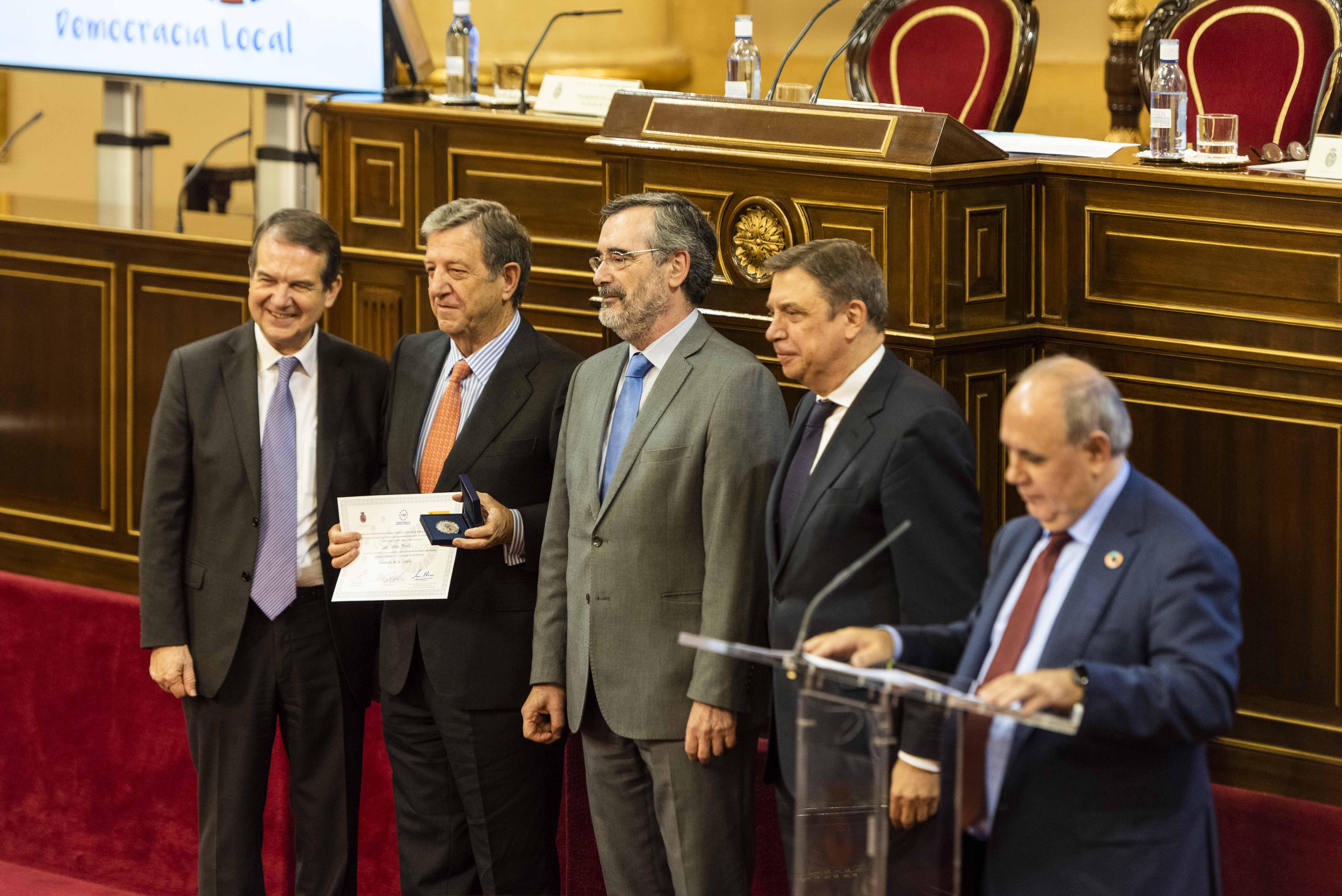 Imagen del Acto de Homenaje al Municipalismo celebrado en el Senado.