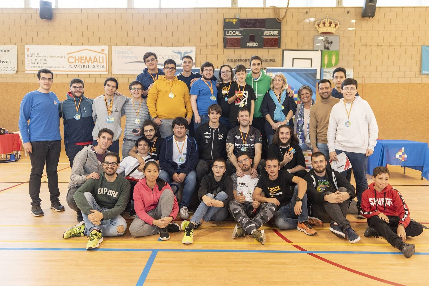 Participantes Campeonato de Rubik