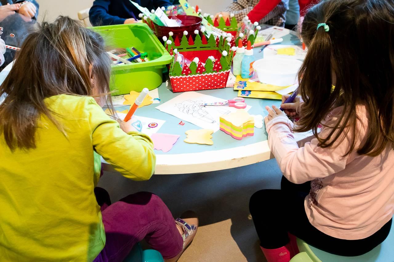 Uno de los talleres infantiles que tuvo lugar durante el fin de semana.