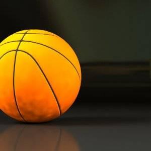 Pelota de baloncesto.
