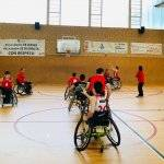 baloncesto silla ruedas