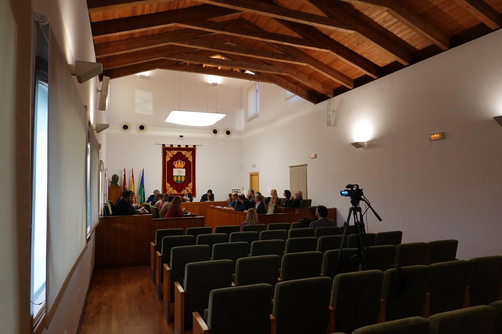 Imagen general del pleno del Ayuntamiento.