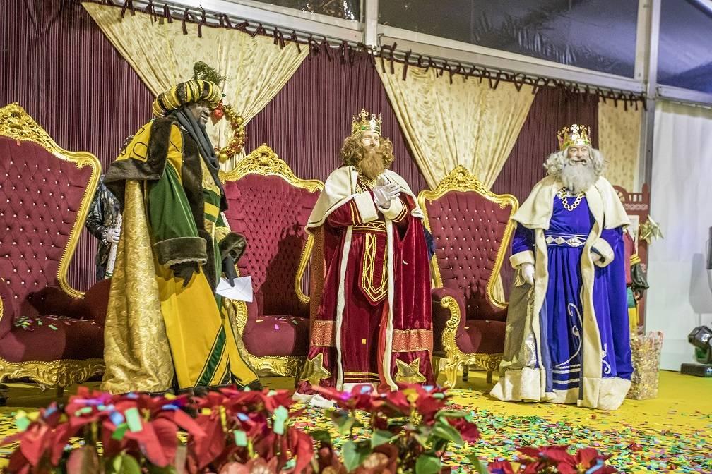 Sus Majestades de Oriente.
