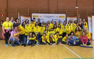Voluntarios del Colegio Padre Garralda.