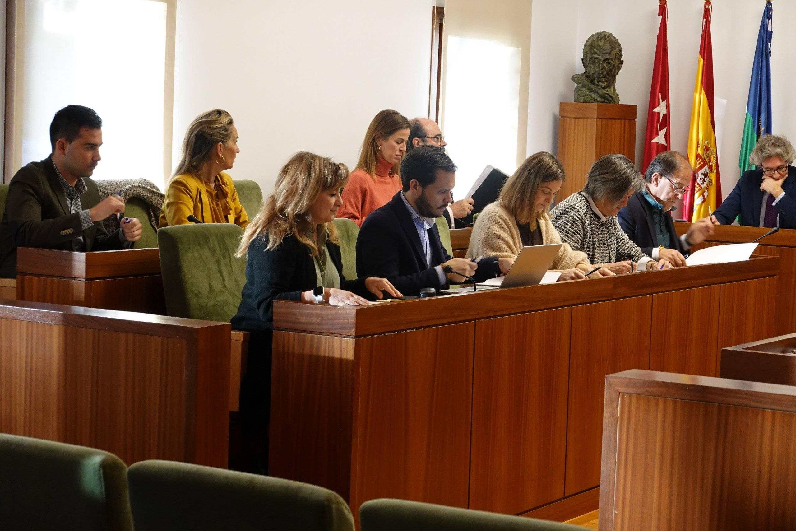 Imagen de la sesión del Pleno.