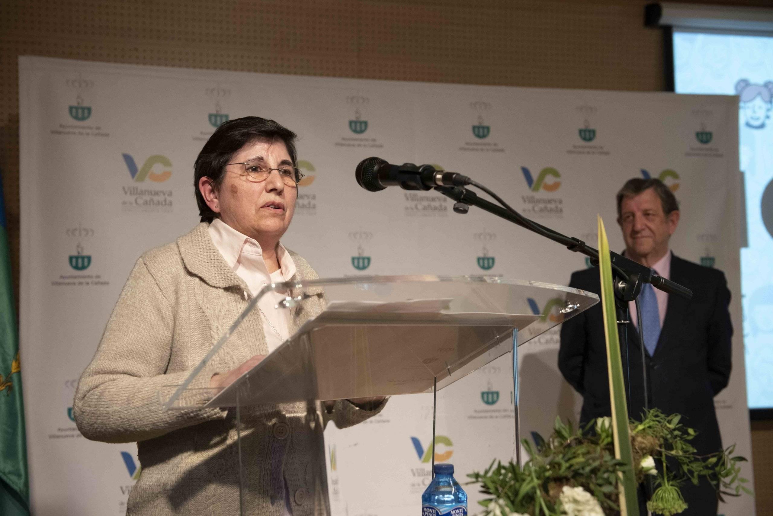 Discurso de la Dtora. Gral. de la Fundación Esolapias Montal, Pilar Berengena Romero.