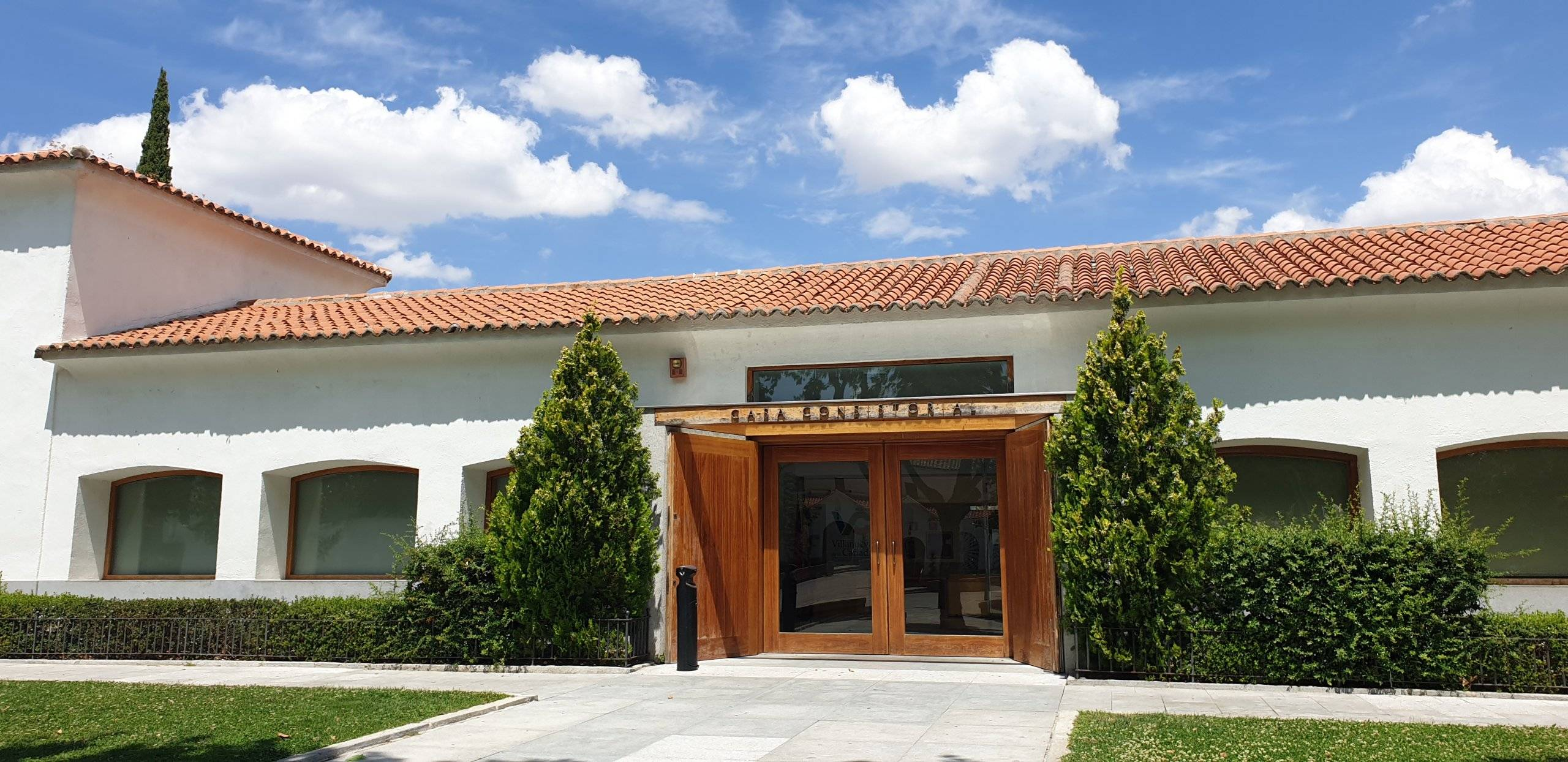 Puerta de acceso edificio Casa Consistorial.