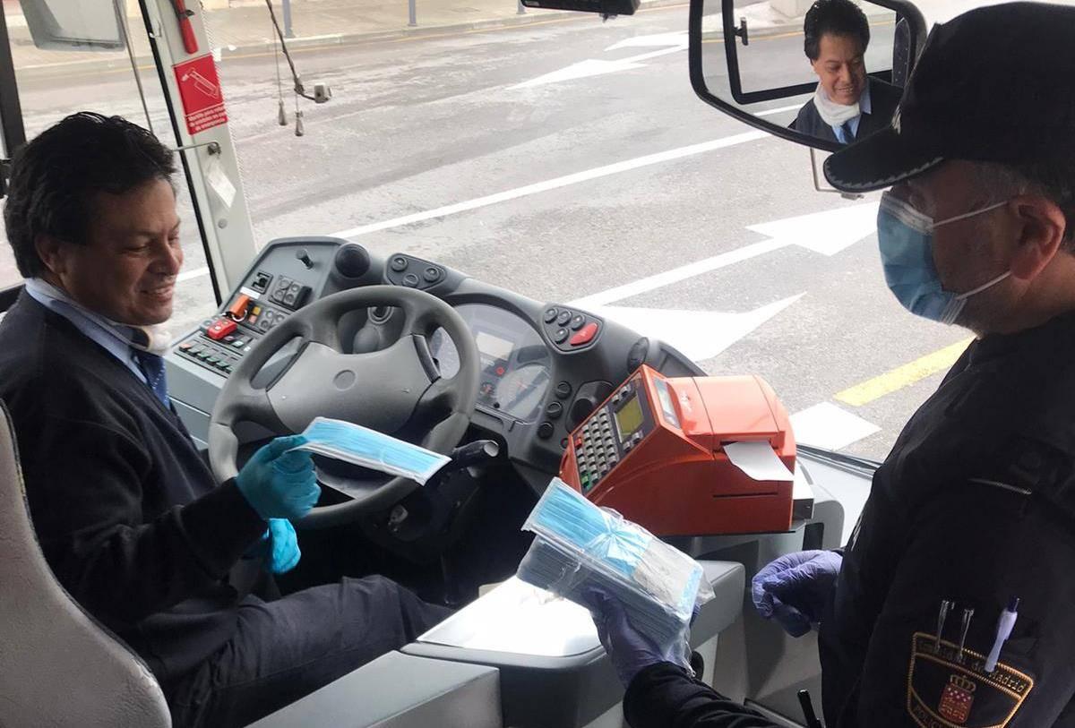 Los conductores de autobús también se han visto beneficiados de esta medida.