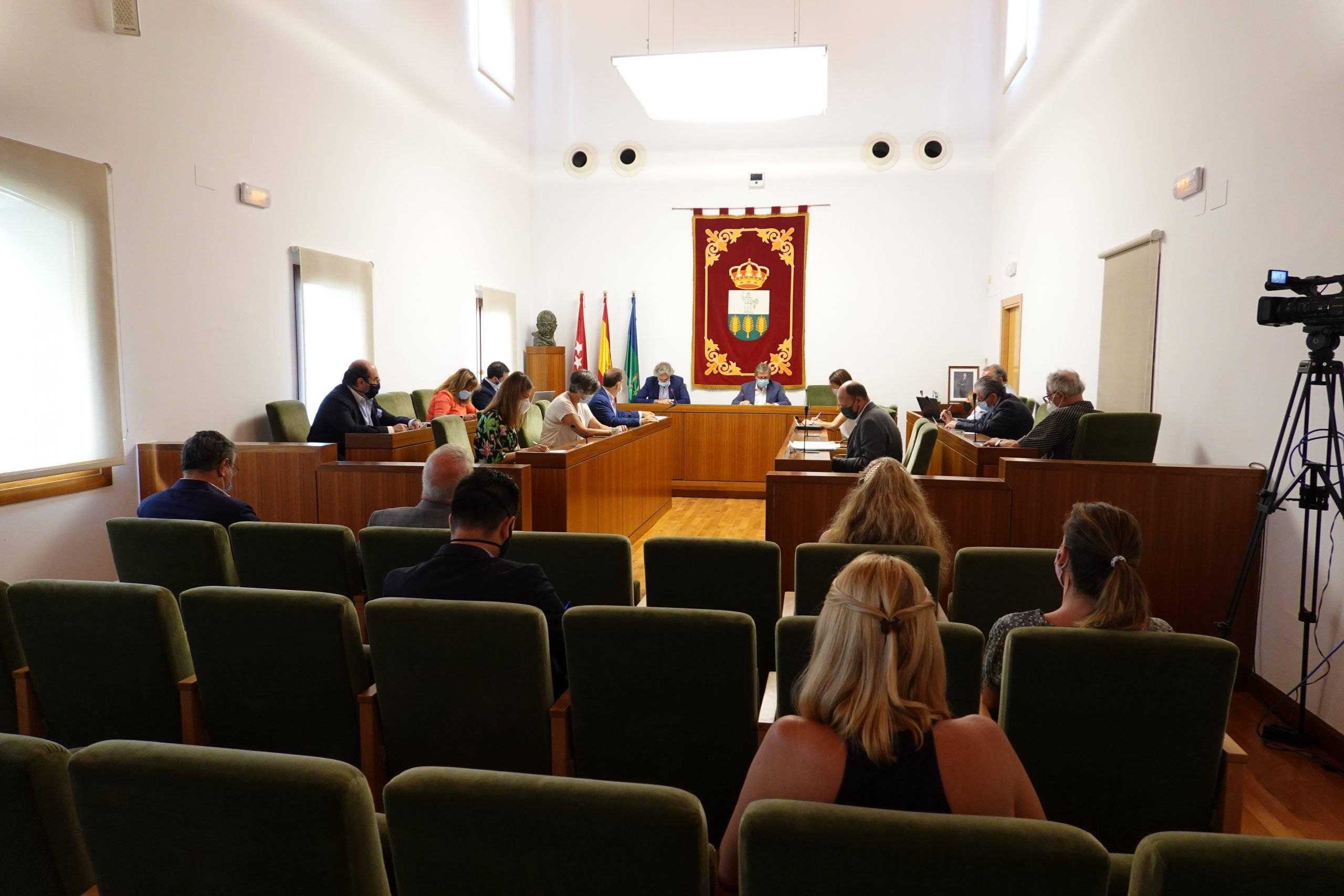 Foto del Salón de Plenos.