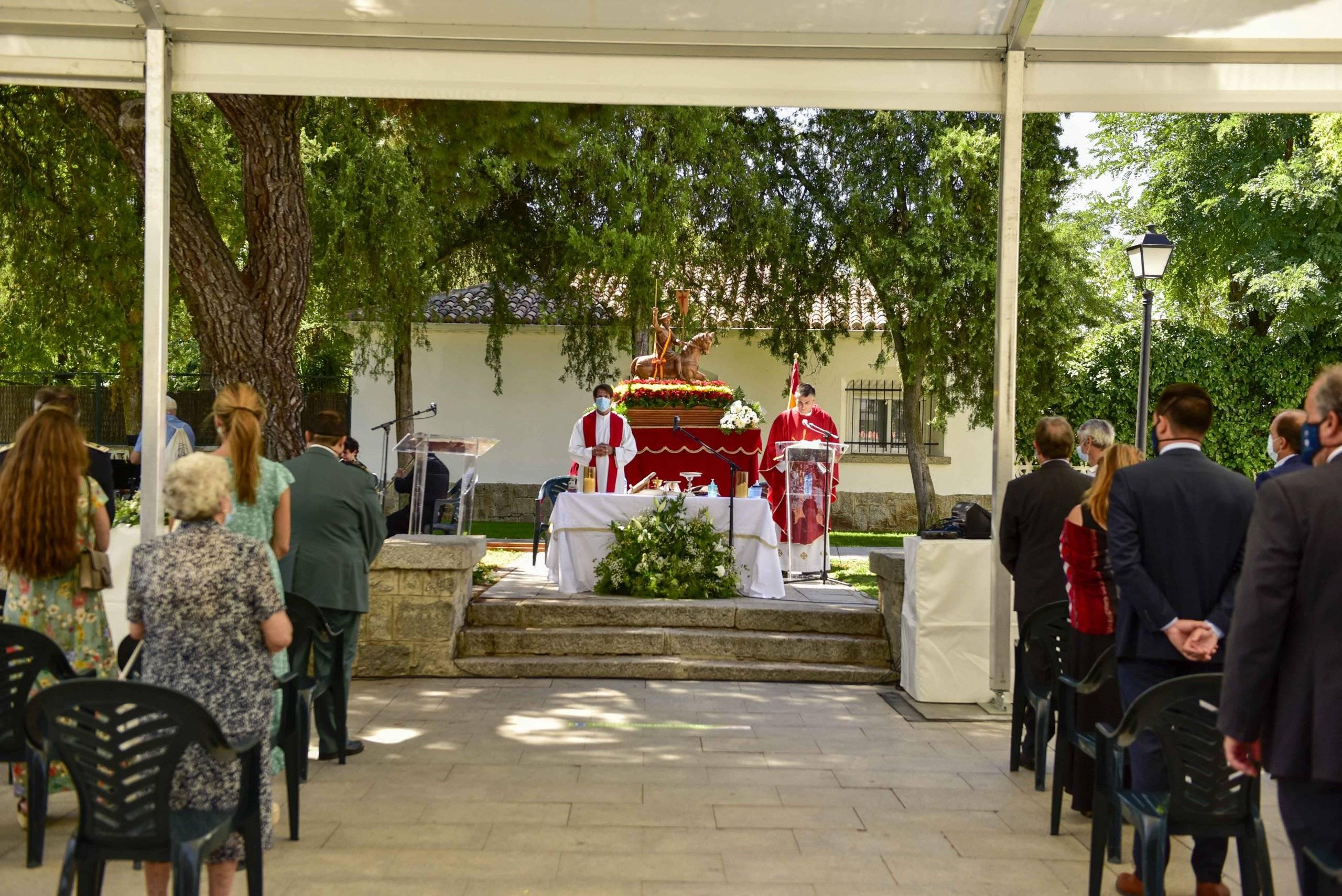 Misa en honor a Santiago Apóstol.
