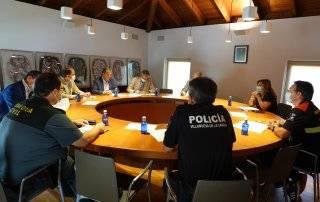 Imagen de la reunión celebrada en la Casa Consistorial.