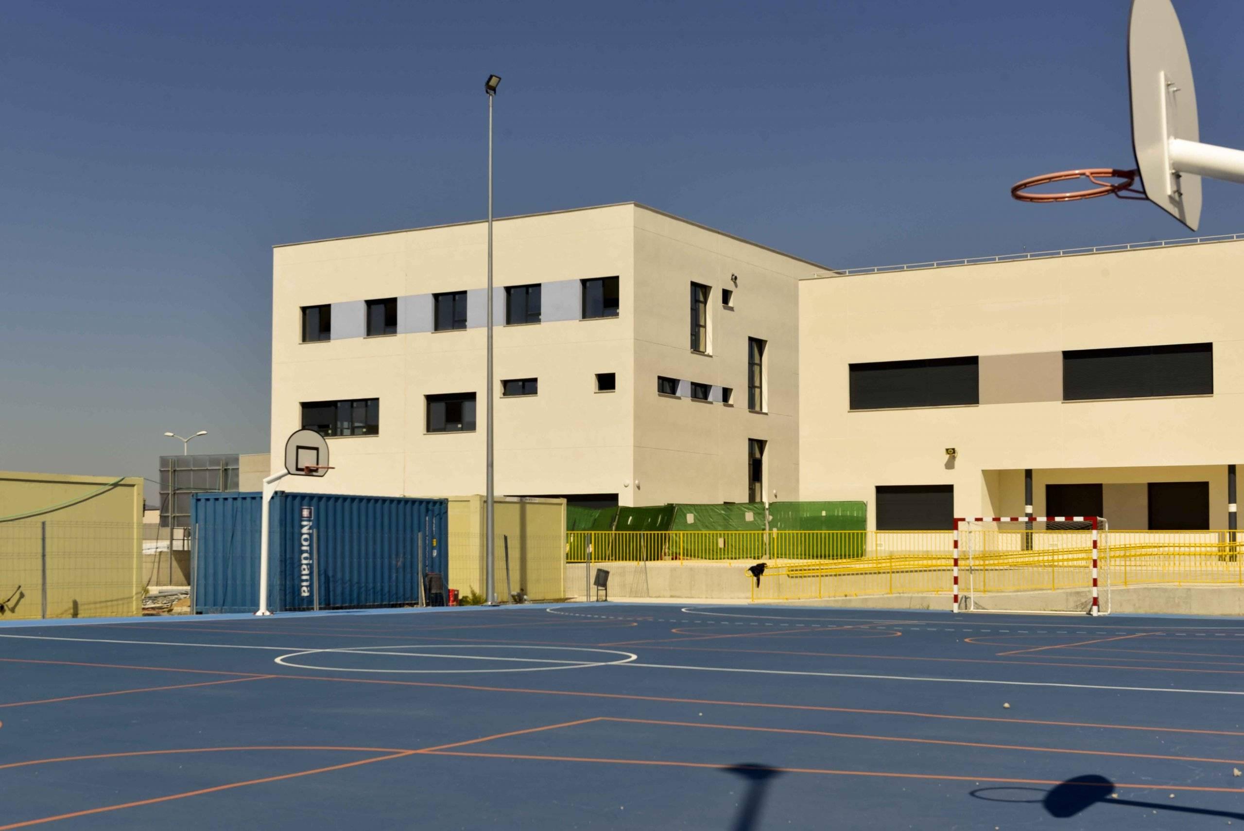 Imagen del colegio Padre Garralda.