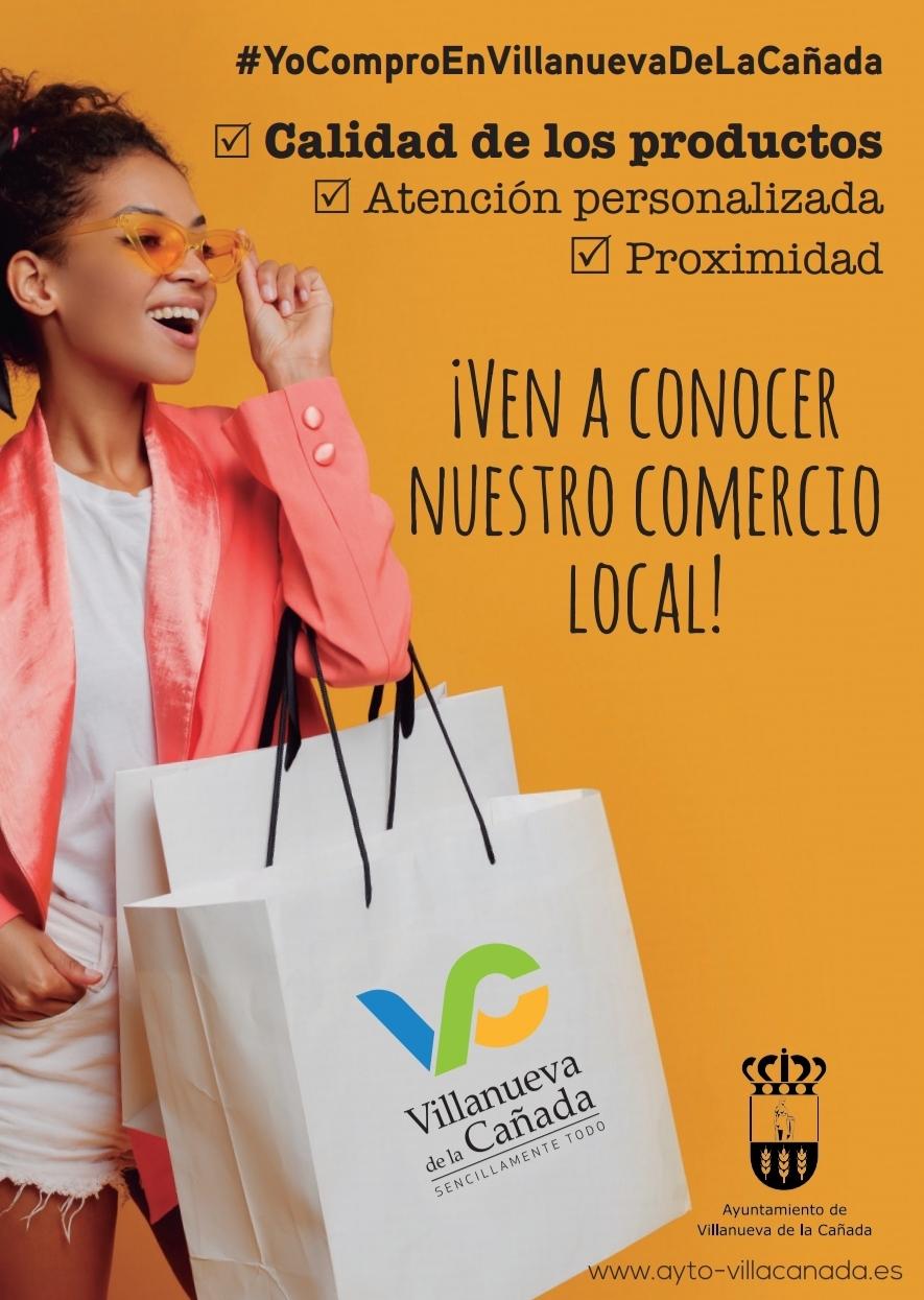 Imagen de la campaña de apoyo al comercio y la hostelería.