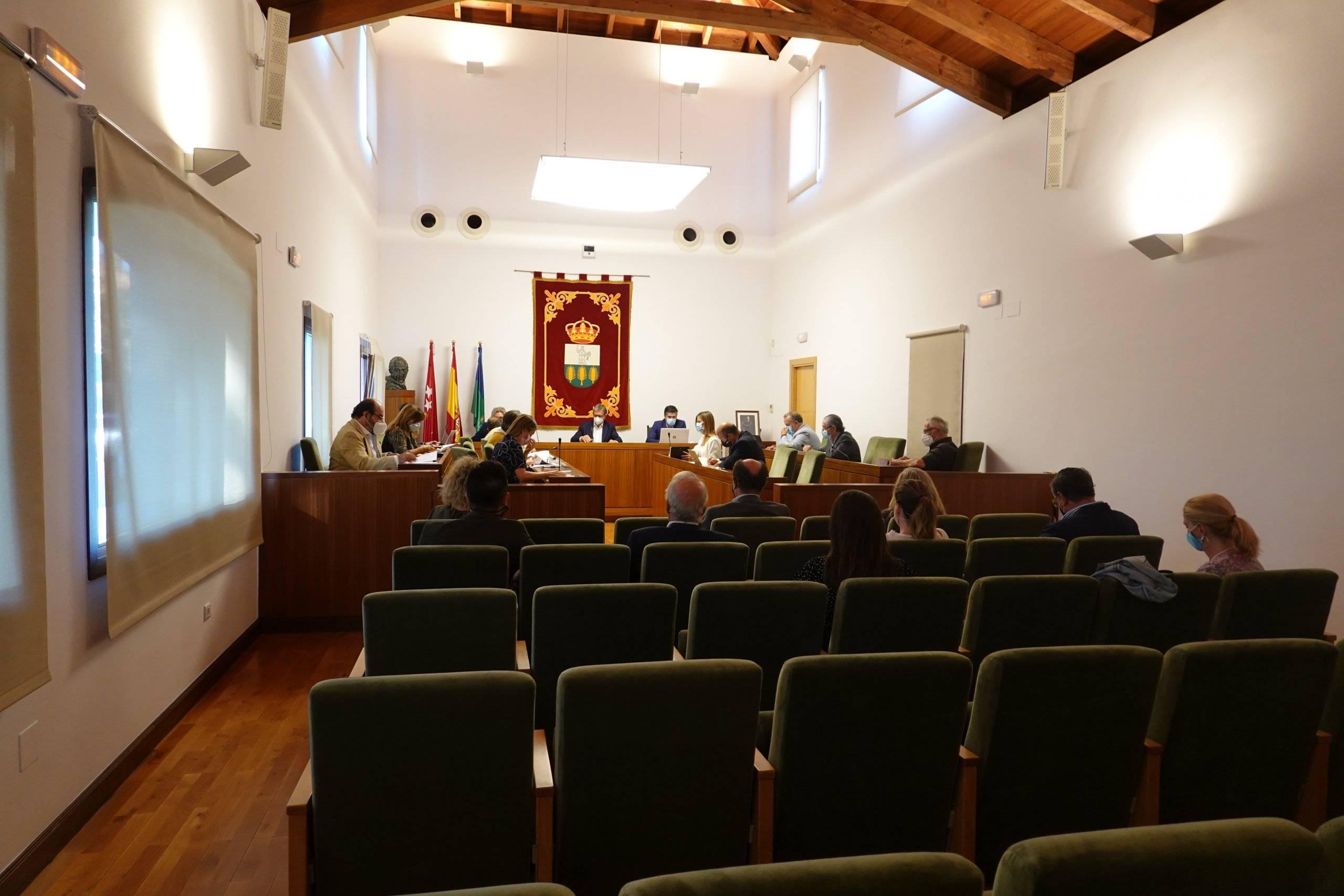 Imagen del Salón de Plenos.