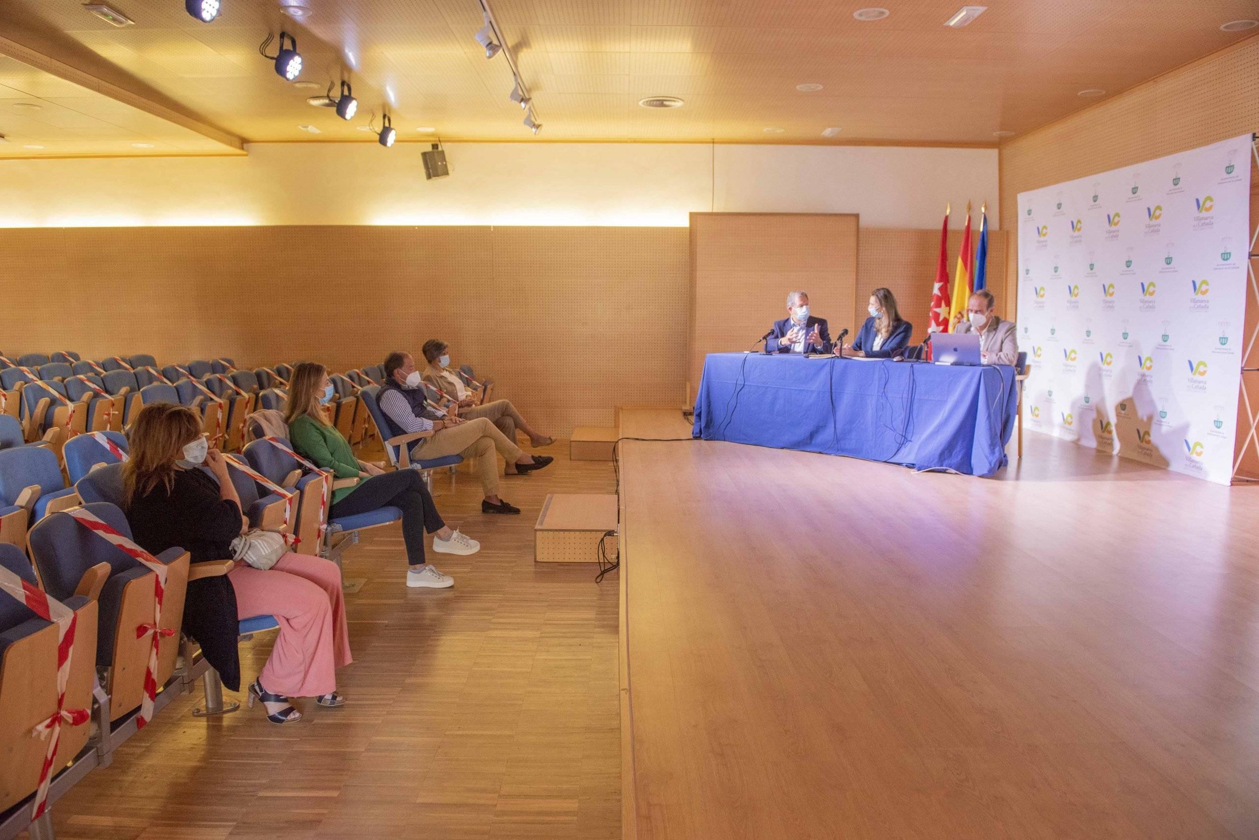 Acto de presentación del Portal del Suelo de la Comunidad de Madrid.