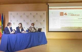 Acto de presentación del Portal del Suelo de la Comunidad de Madrid