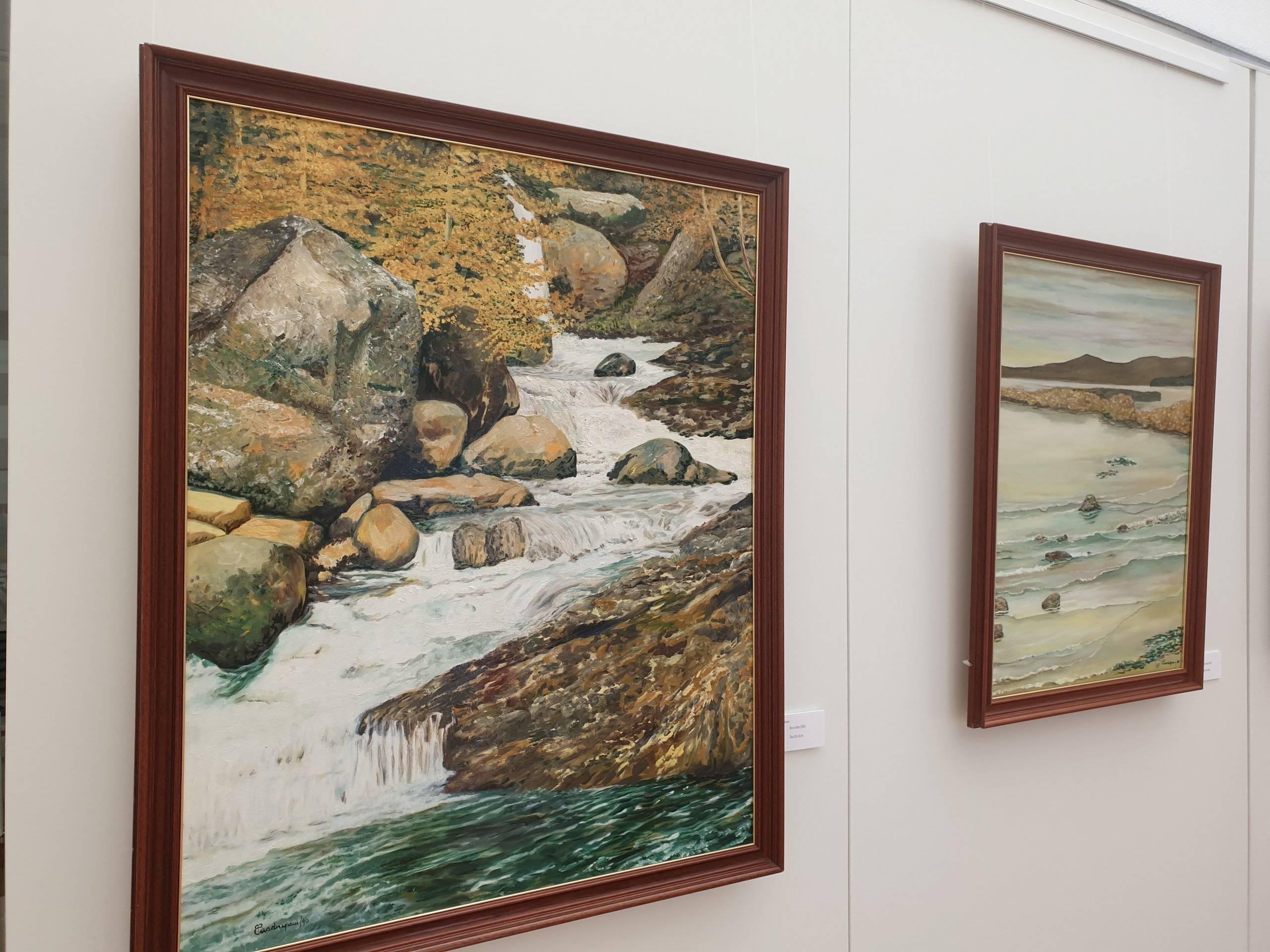 Obras de Amalia P. Cuadrupani.