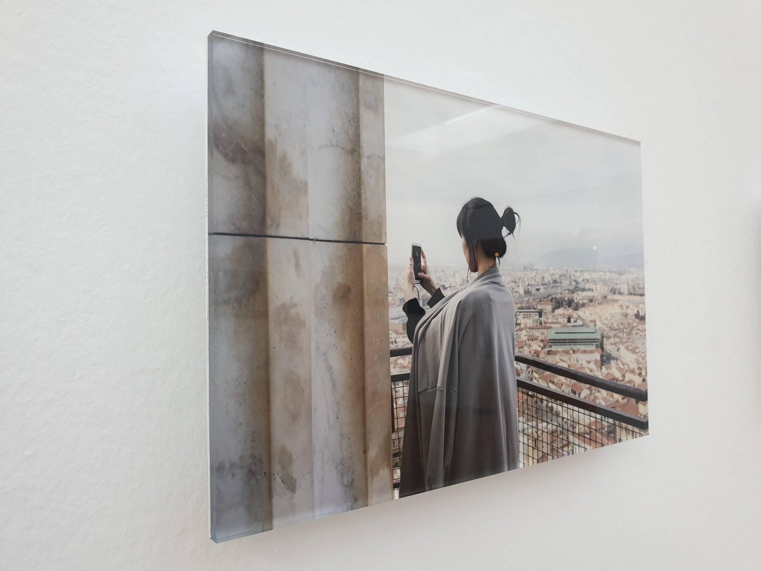 """Cuadro exposición """"Like"""" de Eduardo Nave."""