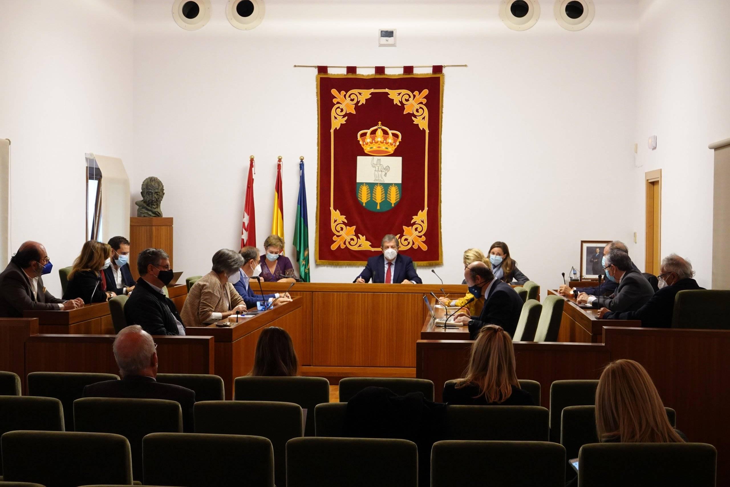 Imagen del Pleno extraordinario celebrado.