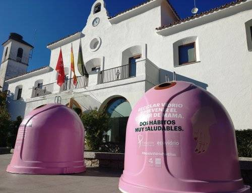 """El Ayuntamiento se suma a la campaña """"Recicla Vidrio por ellas"""""""
