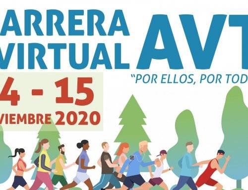 El Ayuntamiento anima a los vecinos a participar en la carrera virtual de la AVT