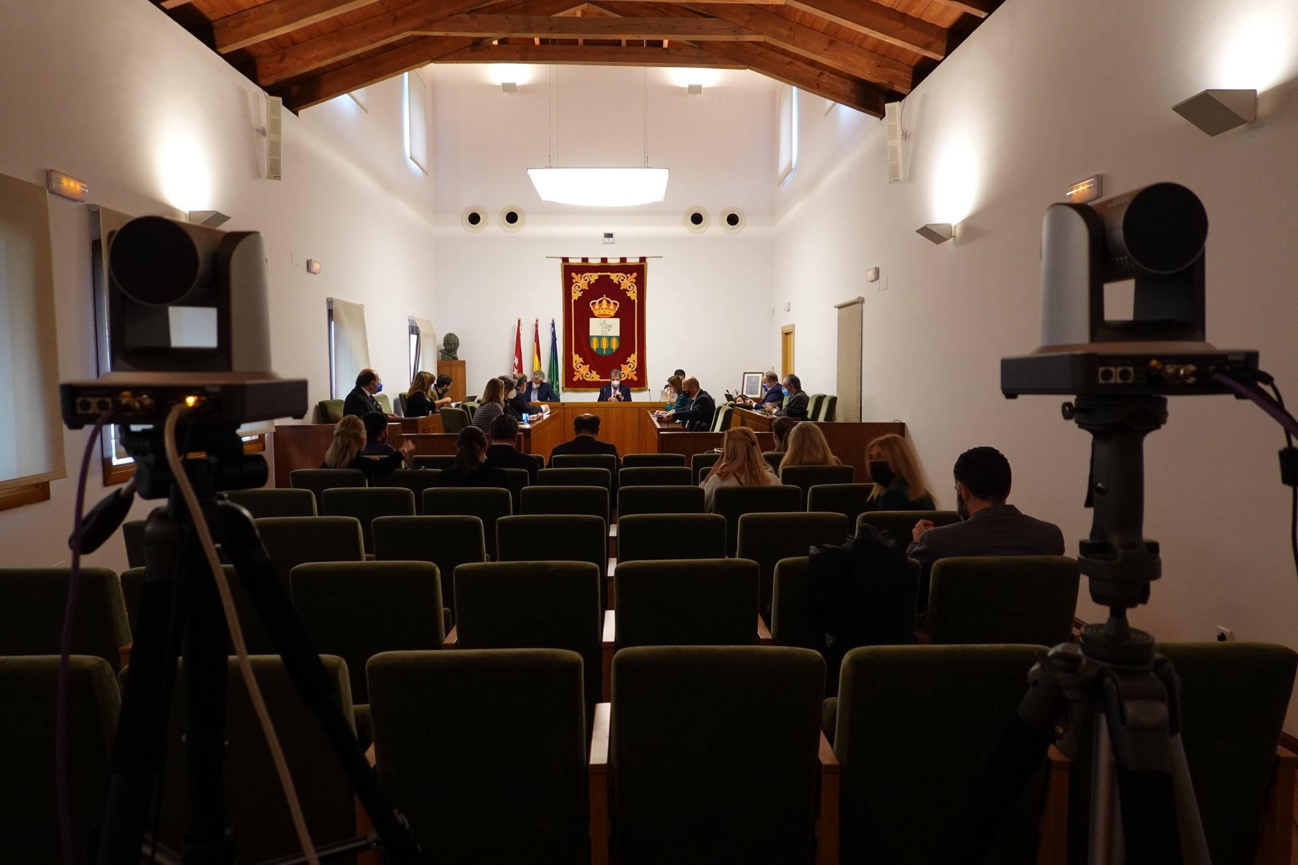 Imagen del Pleno celebrado.