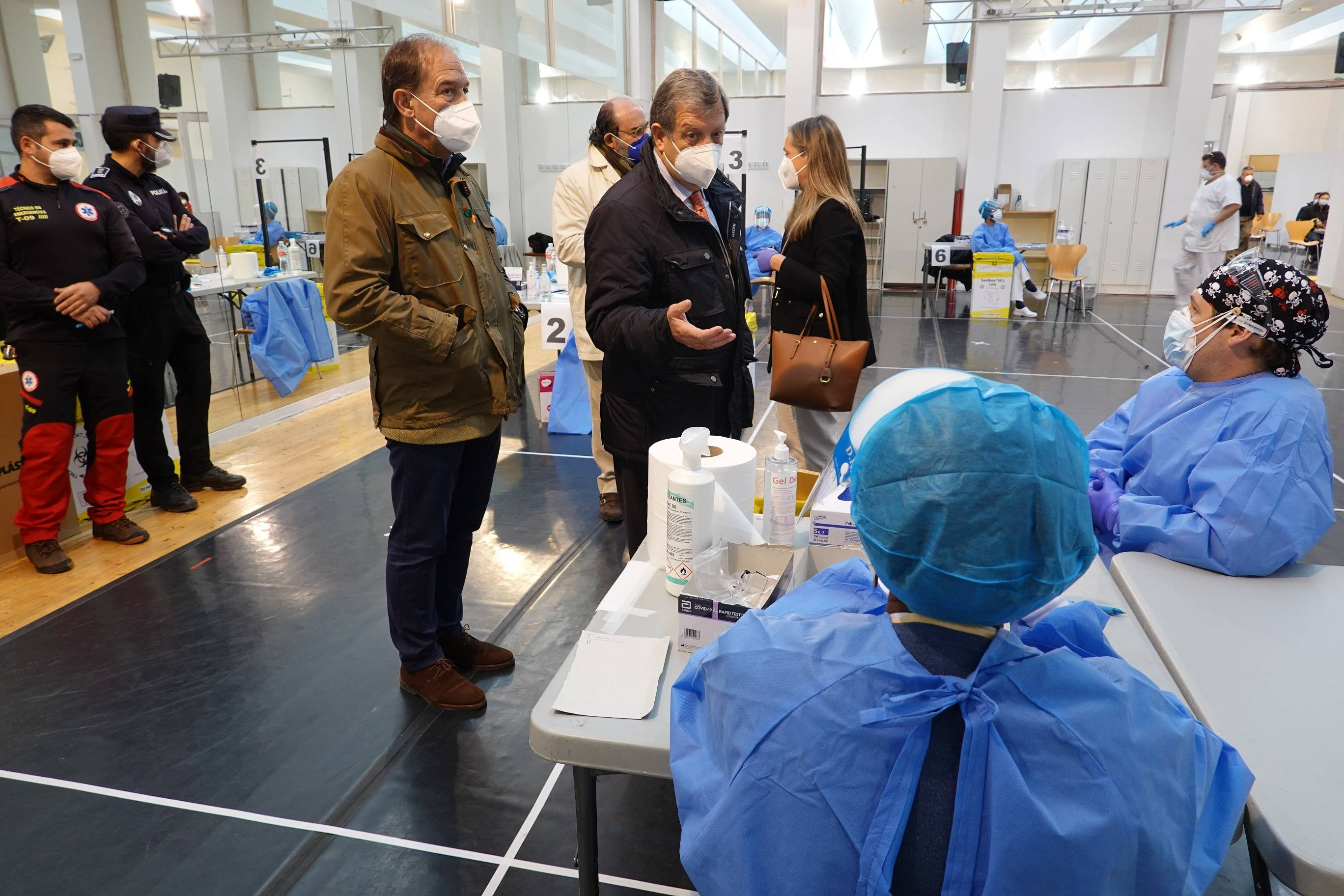 Continúa la realización de test de antígenos en La Despernada