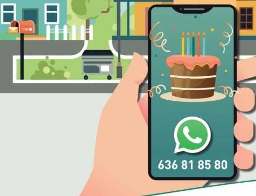 El Servicio de Comunicación de Incidencias vía WhatsApp cumple cinco años