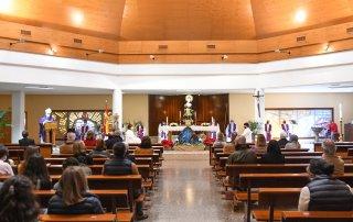 Misa con motivo del 25.º aniversario de la construcción de la parroquia Sta. M.ªSoledad Torres Acosta.