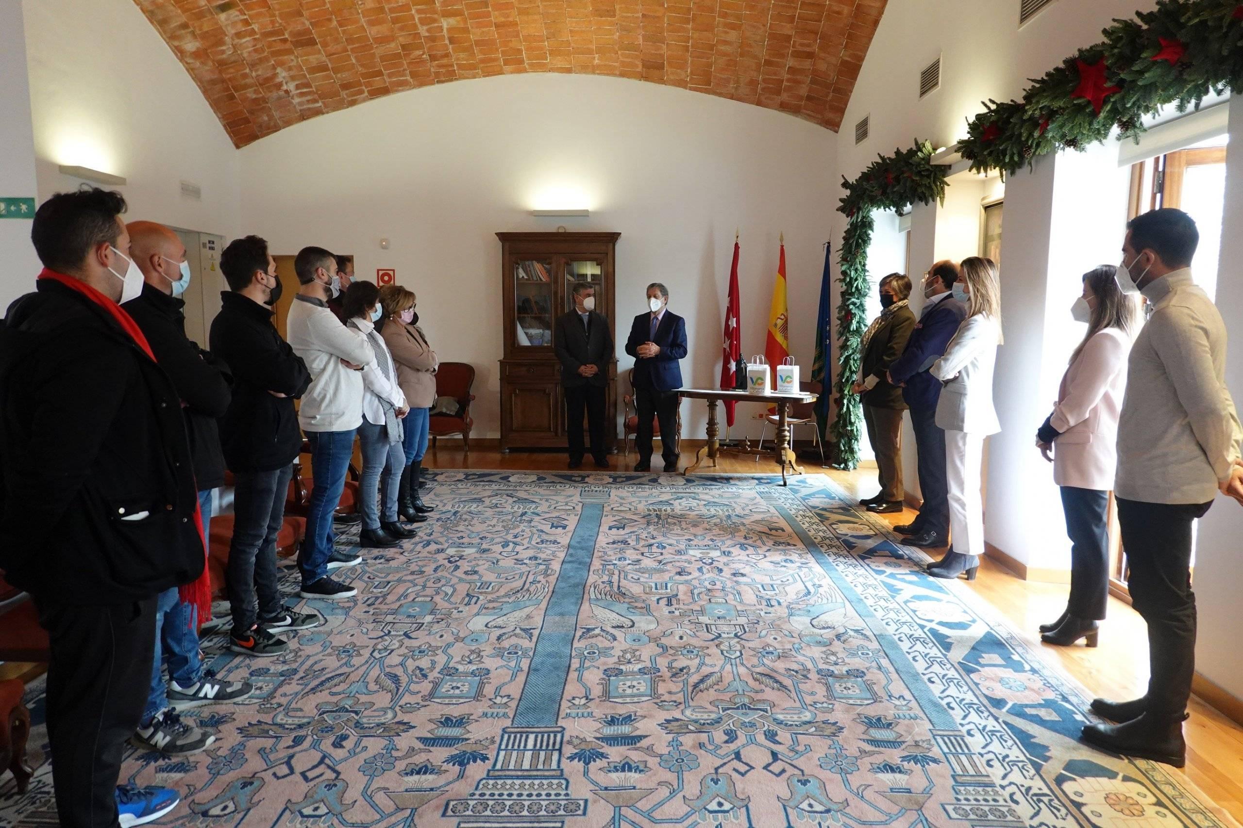 Entrega de premios del XVIII Concurso de Escaparatismo Navideño.