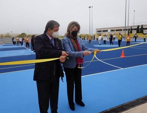 Inauguración de la pista polideportiva del CEIPSO Padre Garralda