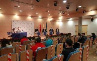 Imagen de la reunión de coordinación de entidades sociales.