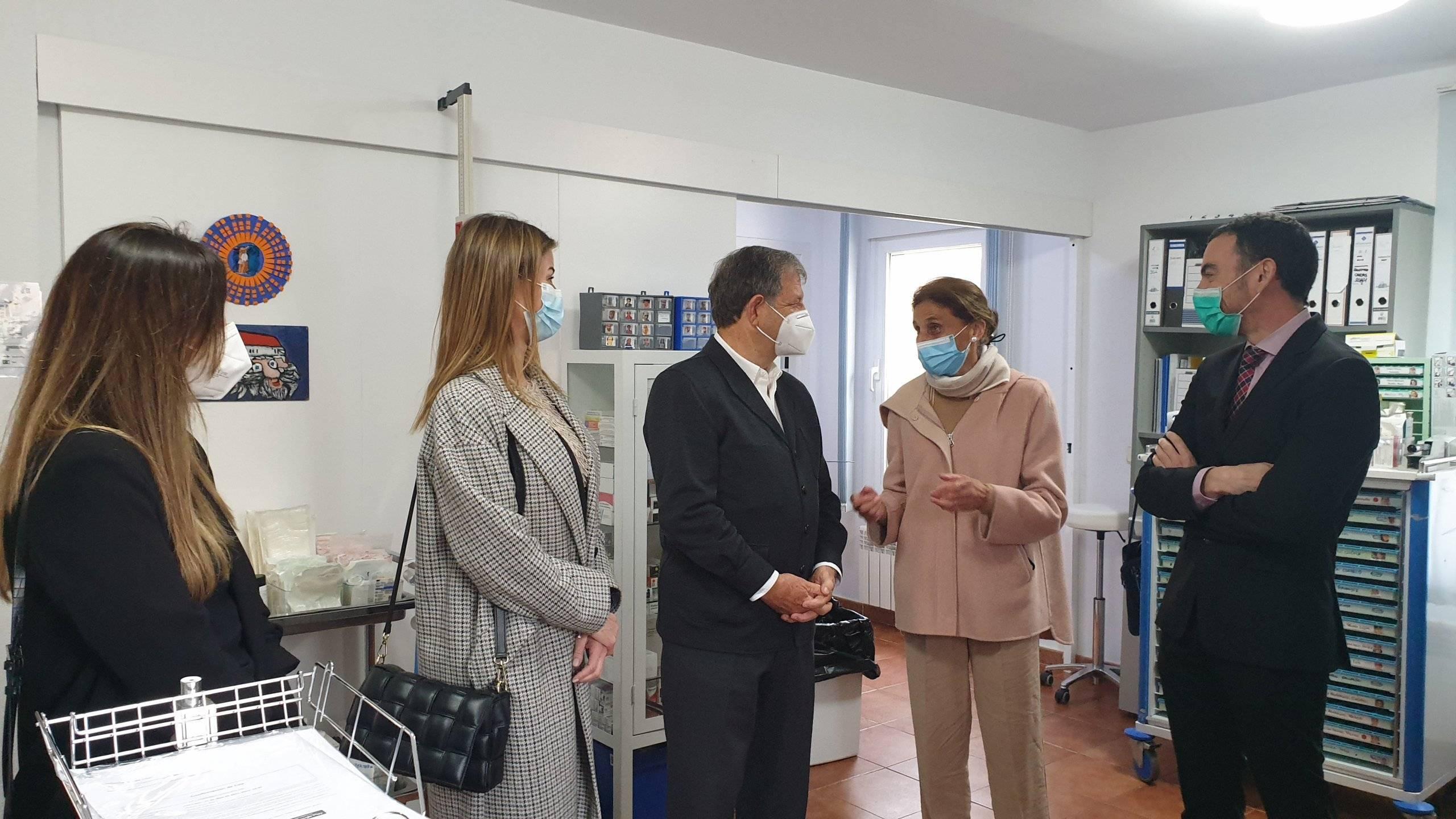 Imagen de la visita a la Fundación Jardines de España.
