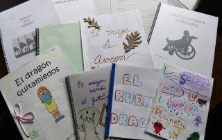 Imagen de los cuentos ganadores del concurso.
