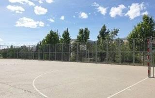 Imagen de una de las pistas deportivas de uso libre.