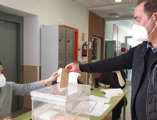 Jornada electoral del 4M en Villanueva de la Cañada