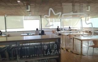 Sala estudio de la Biblioteca Municipal F. Lázaro Carreter.