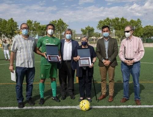 Homenaje a los presidentes del club de fútbol del municipio