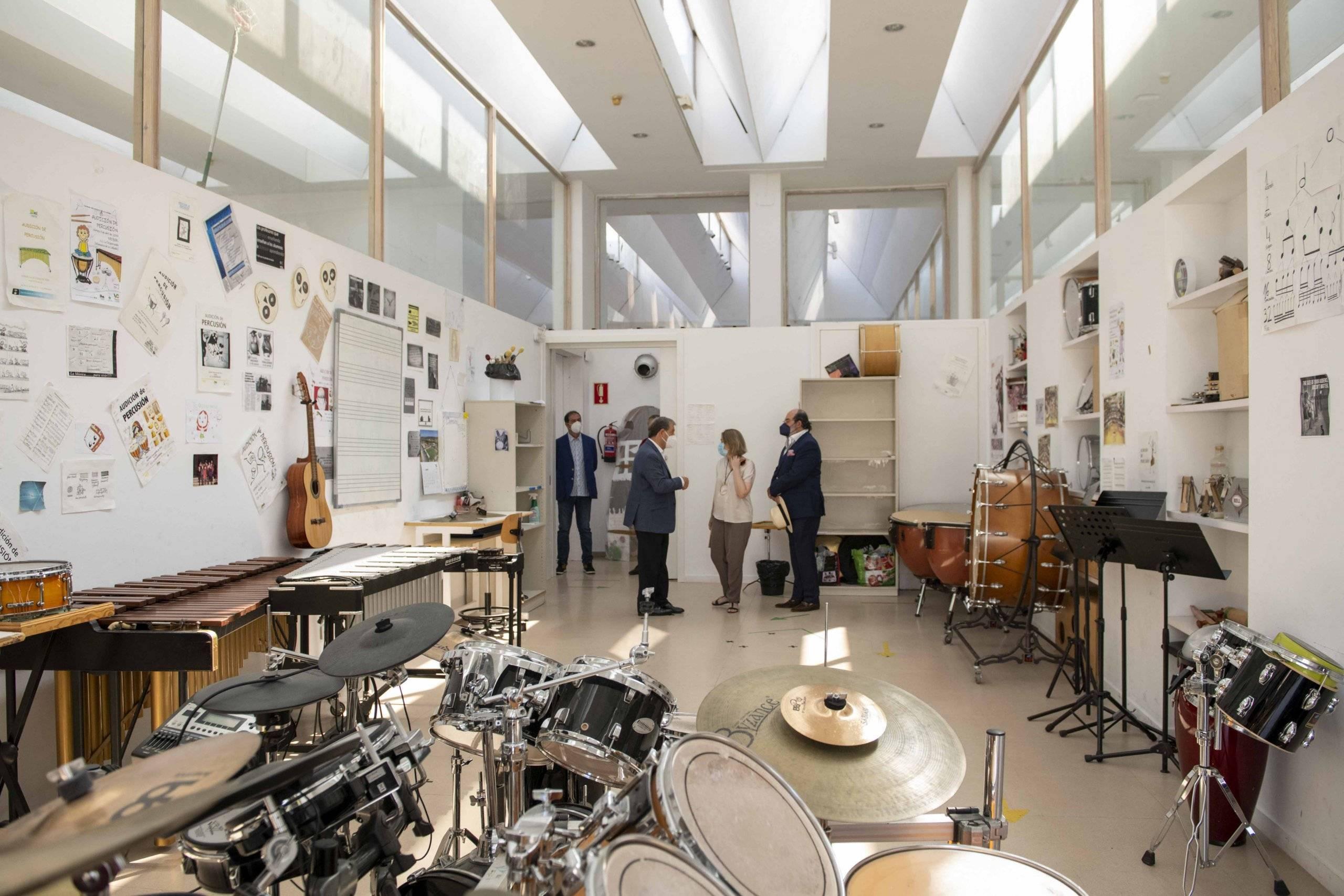 Visita a la Sala de Música ubicada en el C.C. La Despernada.