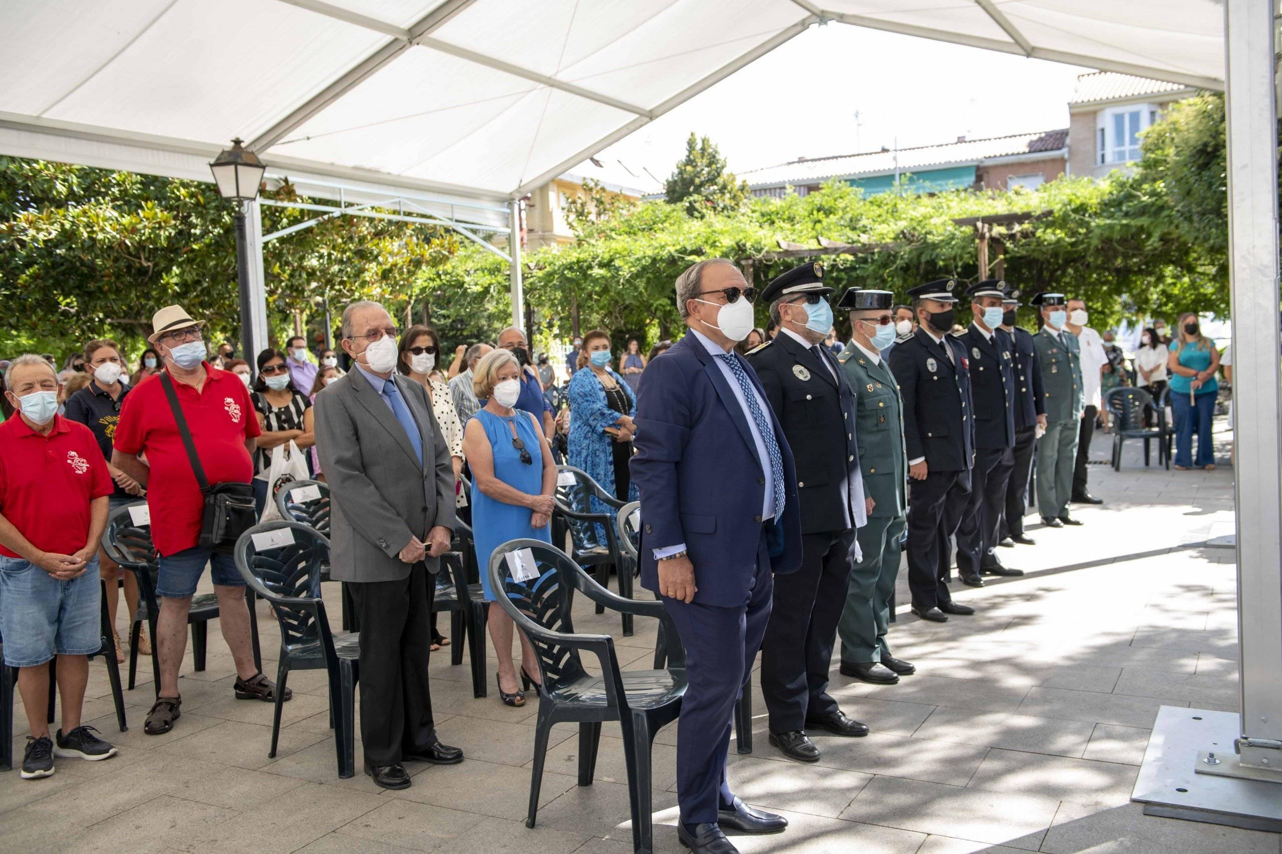 Representantes de Policía Local, Guardia Civil, Juzgado de Paz y distintos colectivos.