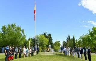 Foto de familia del homenaje a Miguel Ángel Blanco.