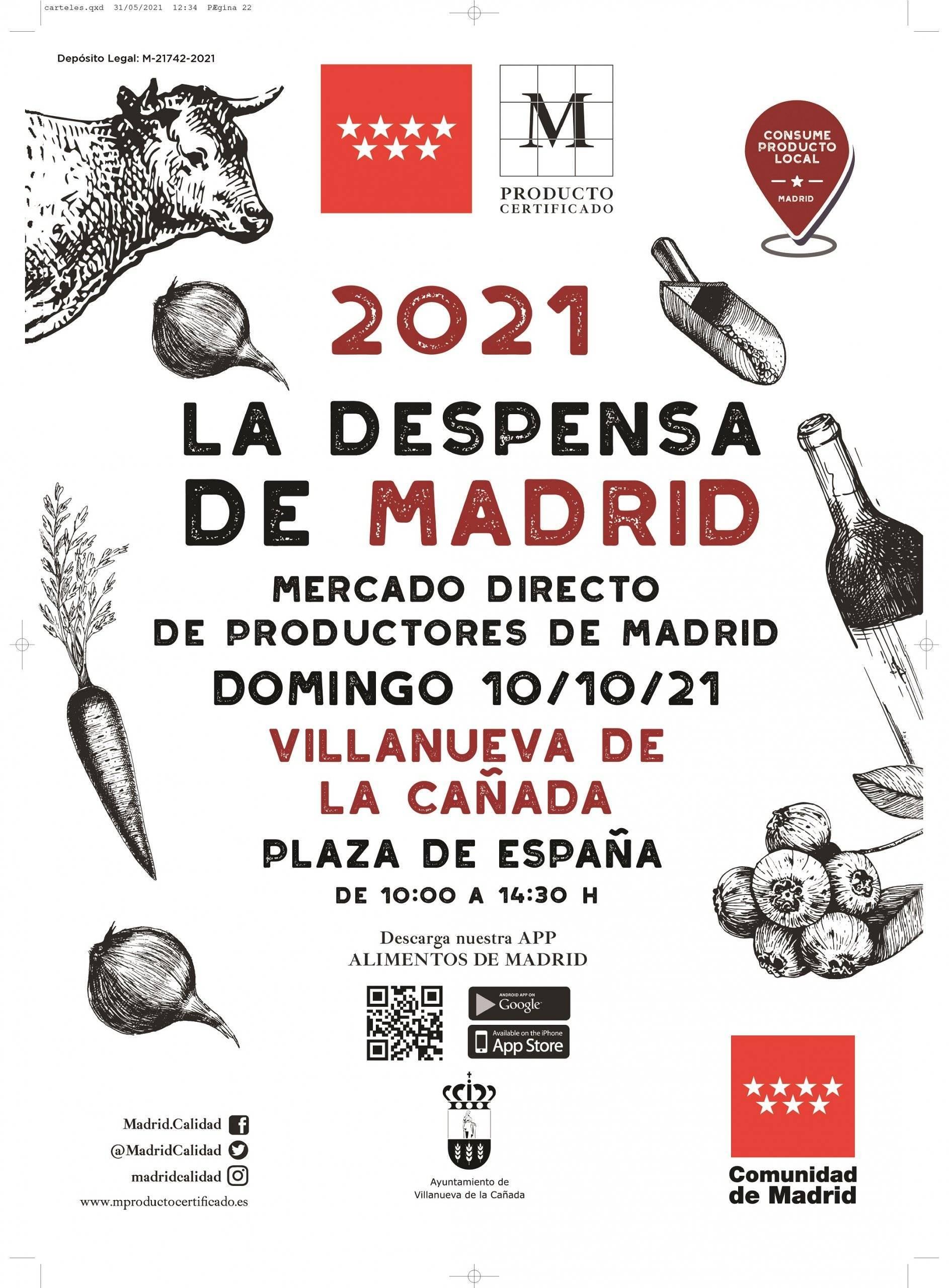 La despensa de Madrid 2021