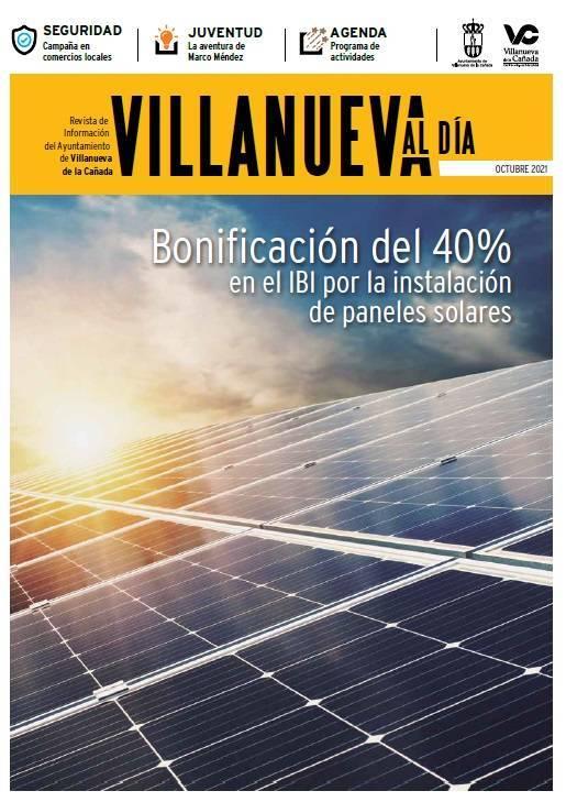 Portada revista Villanueva al dia octubre 2021