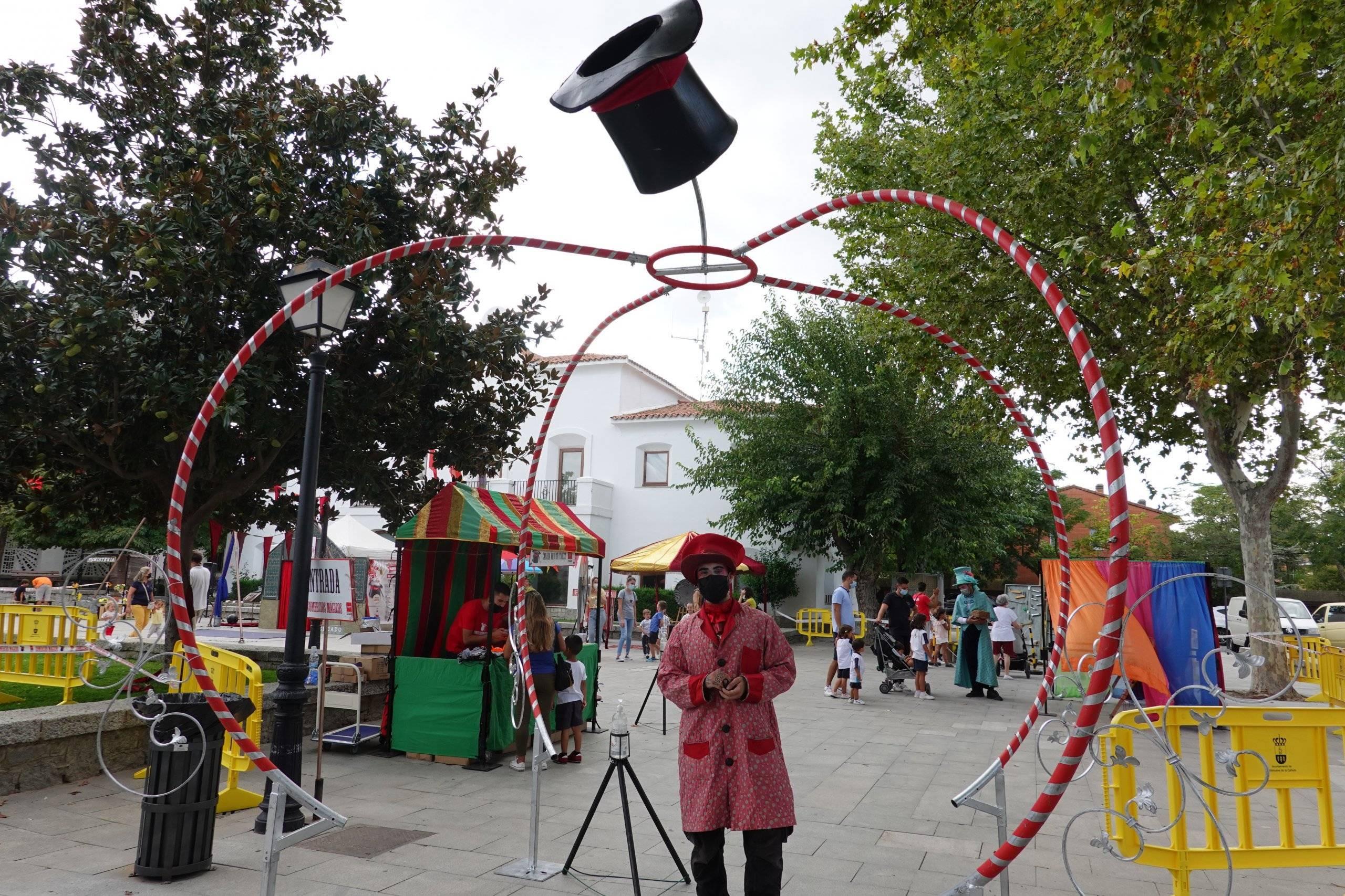Entrada a la Feria de la Fantasía.