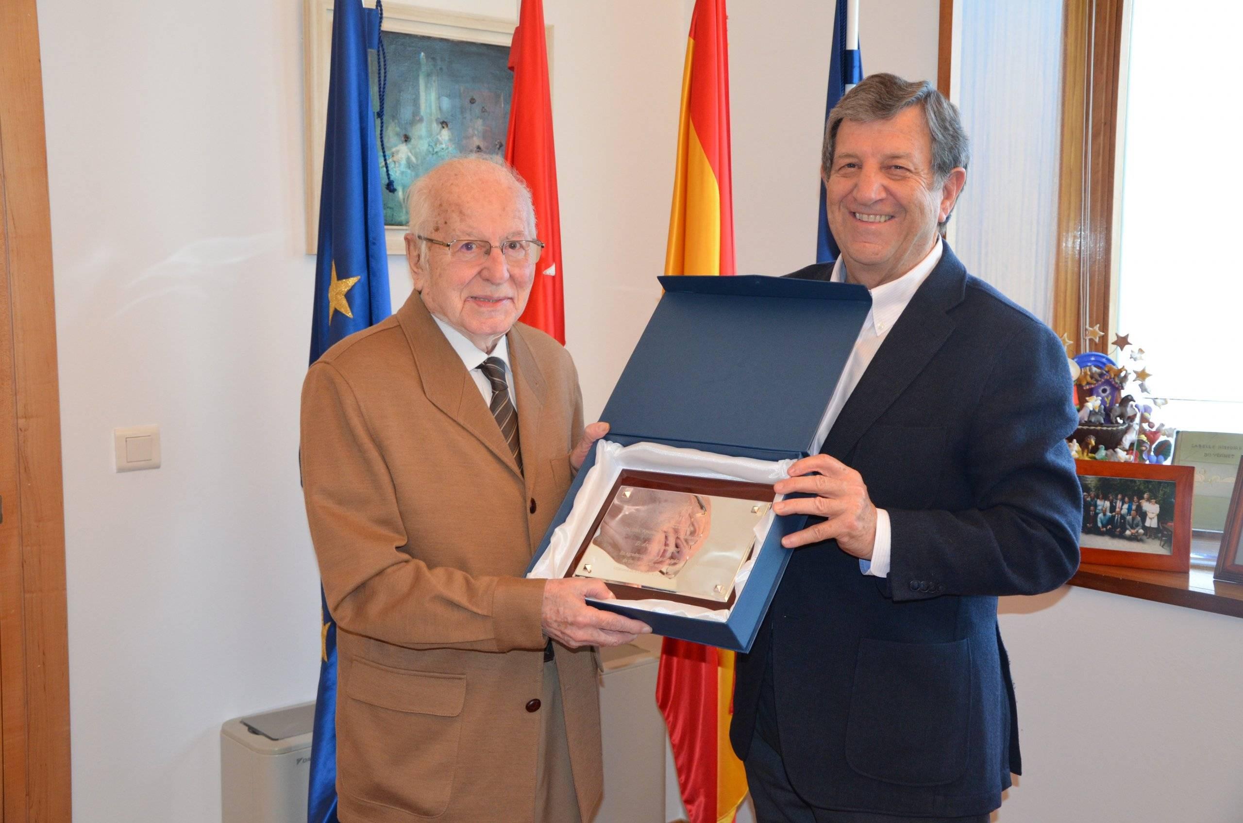 Foto Ángel Domingo y Luis Partida.